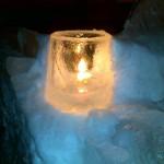 Ледовый подсвечник